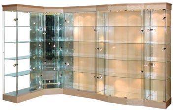 Glass Displays - Glass Displays UK - Glass Display Cabinets ...